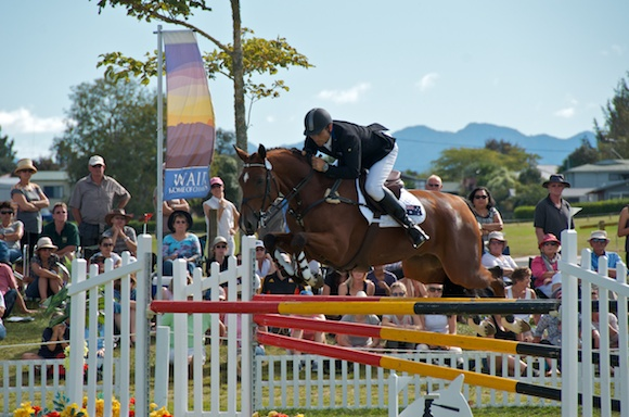 Shane Rose & Taurus winners of the Kihikihi CIC3* class
