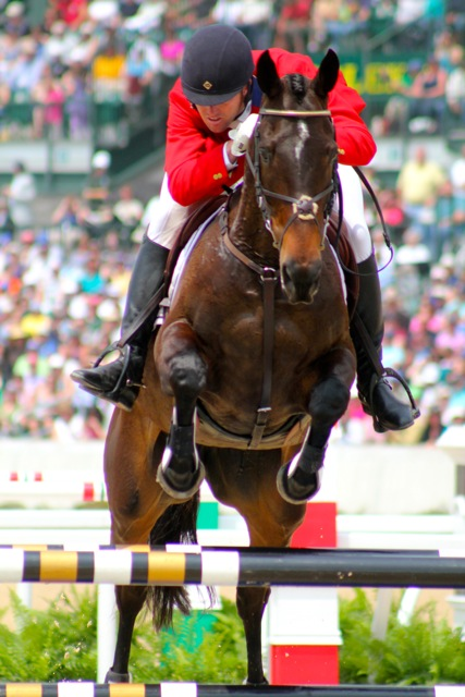 Will Faudree and Andromaque at Rolex 2012. Photo by Samantha Clark.