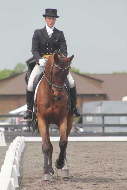 Brittany Kart and Llewellyn in 2012. Photo by.....????