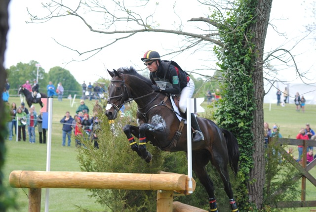 Doug Payne and Running Order at Rolex 2012, photo by Heather McGreer