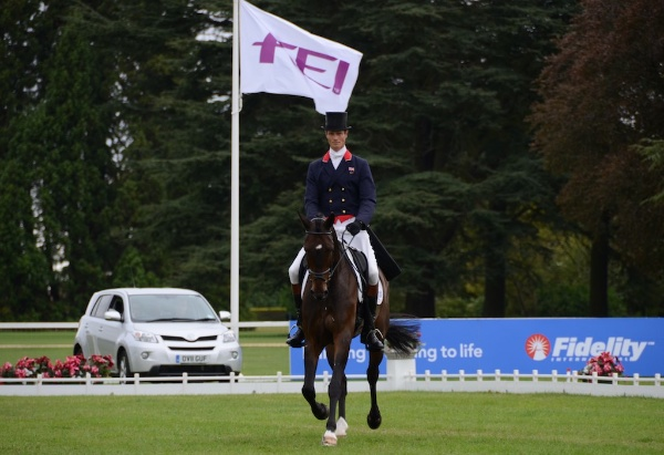 William Fox-Pitt & Bay My Hero at Blenheim 2011