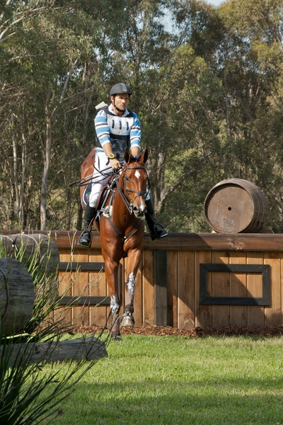 Shane Rose and Taurus at the Sydney Three Day Event, image by John Lechner | ESJ Photo