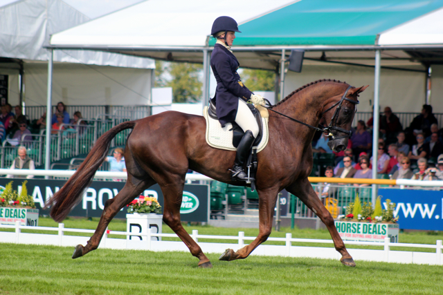 Allison & Arthur at Burghley 2012, can they pull a repeat? Photo by Samantha Clark.