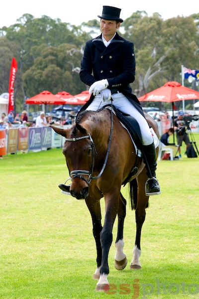 Shane Rose & APH Moritz leaders after dressage in the CCI4*