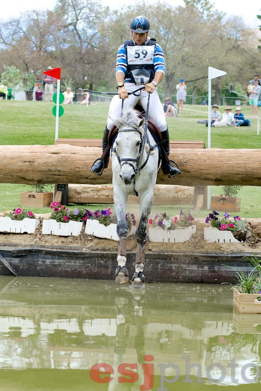 Shane Rose and CP Qualified, leaders after XC in the CCI4*