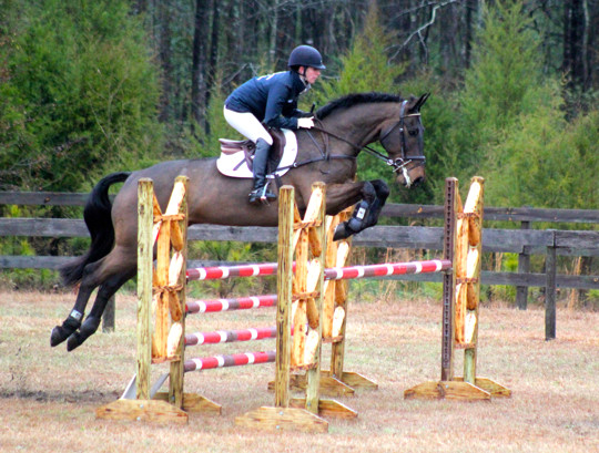 Jenny Caras and Fernhill Fortitude. Photo by Samantha Clark.