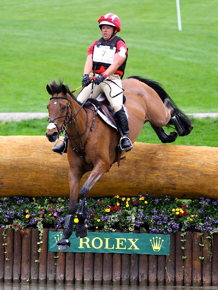 Buck Davison and Park Trade drop into the Head of the Lake at Rolex 2013. Photo by Kasey Mueller/Rare Air Photography.