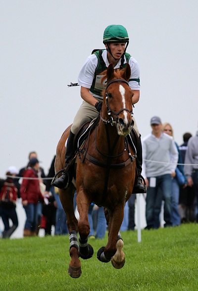 Daniel and Houston making cross country look easy at Rolex. Photo by Kasey Mueller.