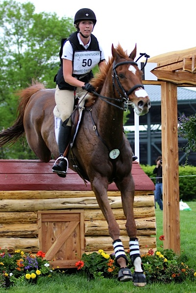 Kendal Lehari and Daily Edition at Rolex. Photo by Kasey Mueller.