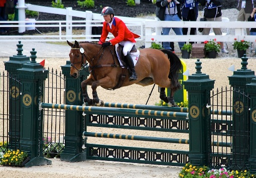 Peter Barry & Kilrodan Abbott, Rolex 2013. Photo: Kasey Mueller