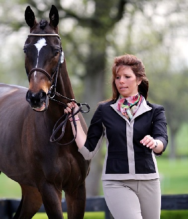 Meghan O'Donoghue and Pirate at Rolex. Photo by Kasey Mueller.