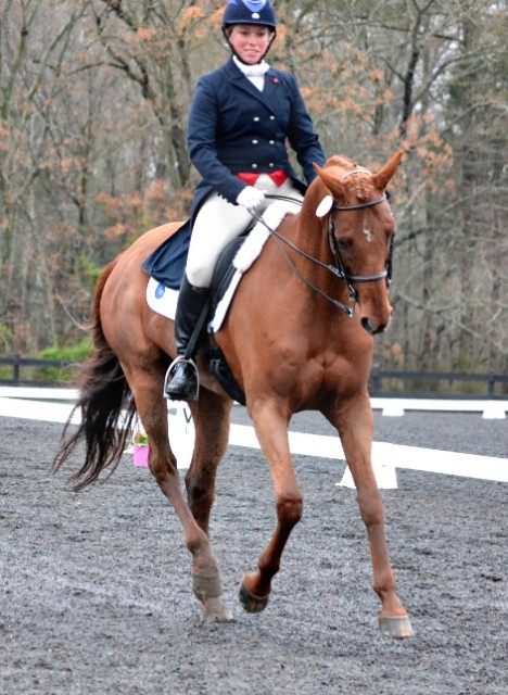 There's that smile! Photo of Colleen Rutledge and Shiraz by Jenni Autry.