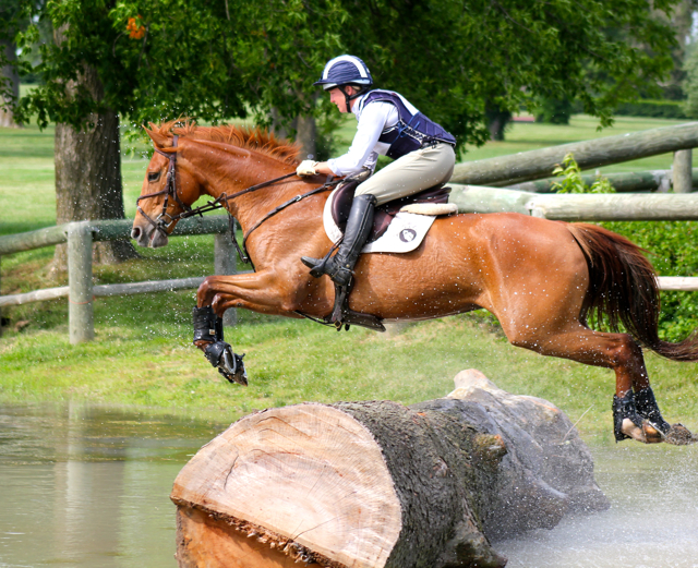 Eventing cross country
