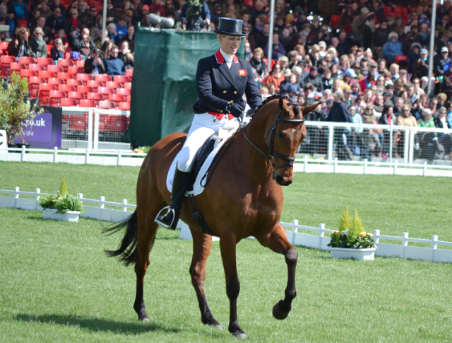 Zara Phillips and High Kingdom. Photo by Jenni Autry.