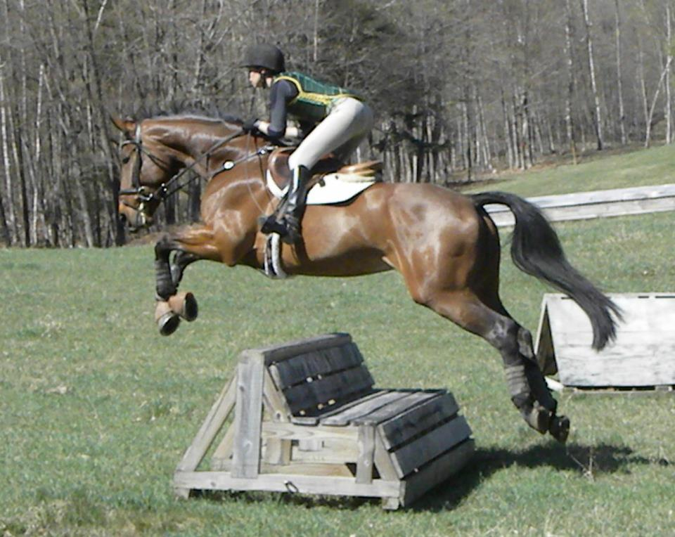 Lila & Valonia XC schooling this year