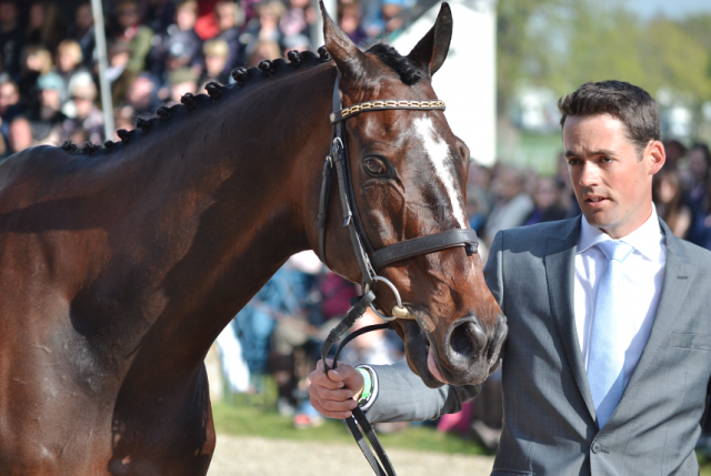 Jock Paget and Clifton Promise at Badminton. Photo by Jenni Autry.