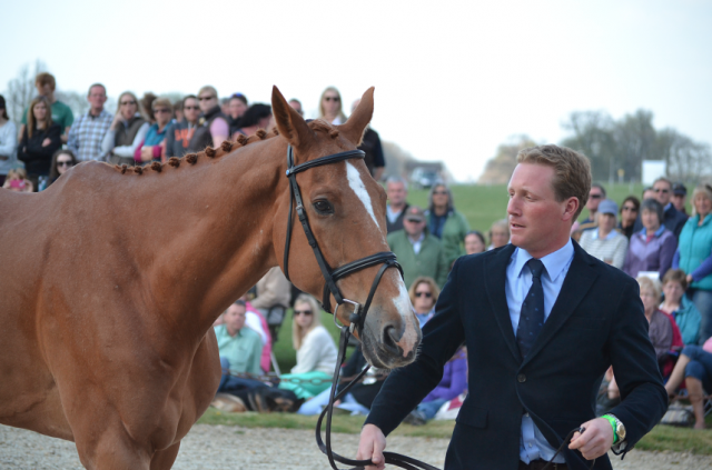 Oliver Townend and Armada at Badminton. Photo by Jenni Autry.