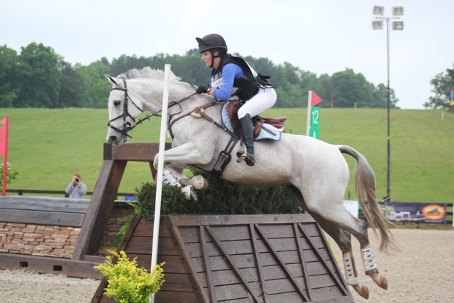 Abby Hamblin and Silver Flash. Photo by ????
