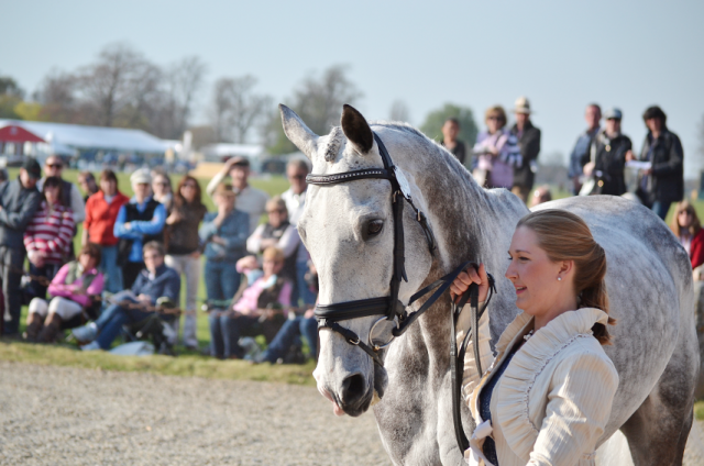 Tiana Coudray and Ringwood Magister at Badminton last year. Photo by Jenni Autry.