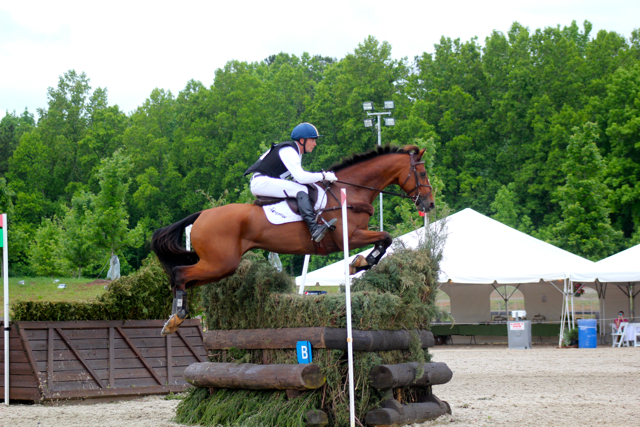 Jon Holling and Zatopek B at Bromont. Photo by Samantha Clark.
