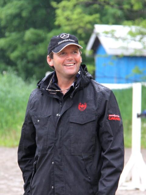 Canadian coach Clayton Fredericks. Photo by Denya Massey.