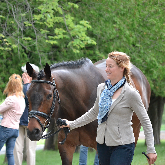 Alex and Cuba at Bromont. Photo by Jenni Autry.