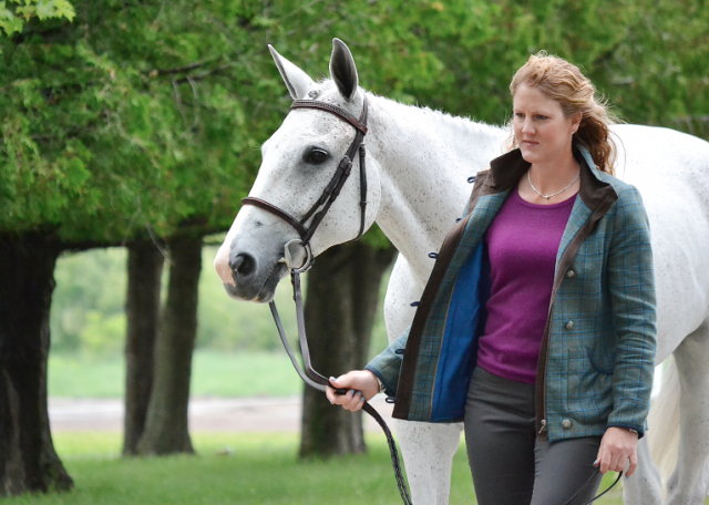 Allison Springer and Copycat Chloe at Bromont. Photo by Jenni Autry.