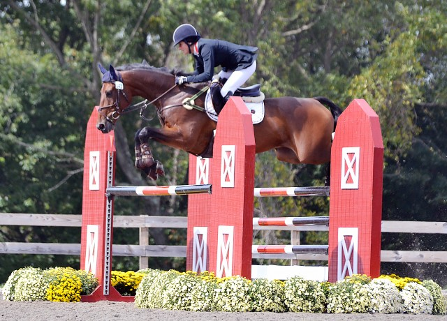 Jennie Brannigan and Cambalda at Plantation Field. Photo by Jenni Autry.