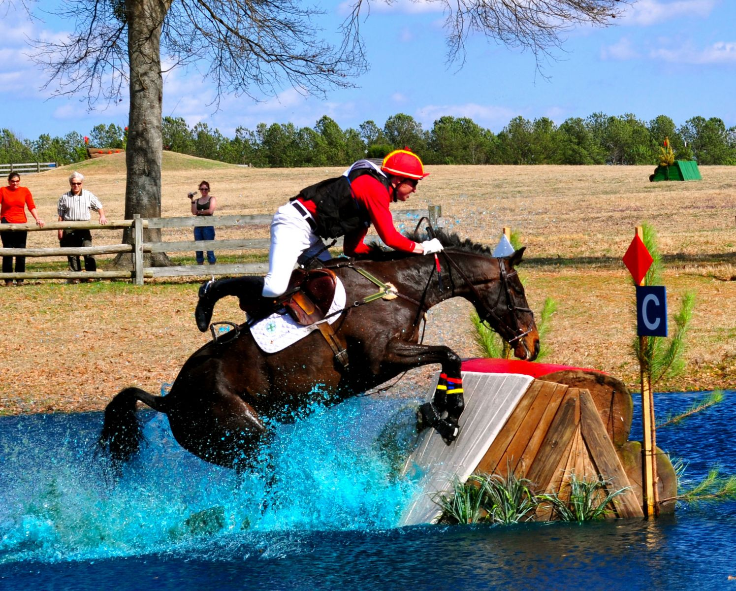 Rider Falls Will Result In Elimination Under New British Eventing Rule Eventing Nation Three Day Eventing News Results Videos And Commentary