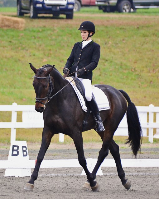 Katie Murphy and Esccord RGS at Fair Hill. Photo by Jenni Autry.