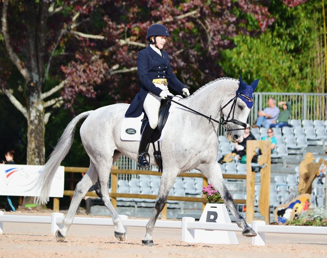 Kristi Nunnink and R-Star at Pau. Photo by Jenni Autry.