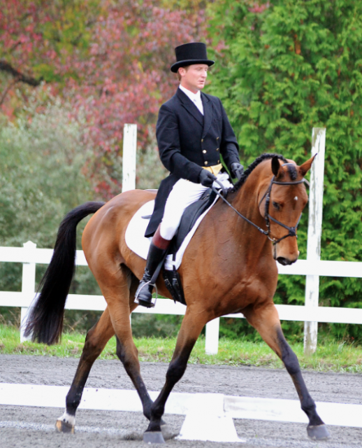 Kurt Martin and Anna Bella at Fair Hill CCI2*. Photo by Jenni Autry.