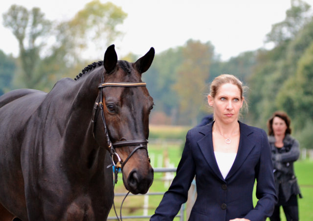 Elizabeth Halliday-Sharp and Fernhill By Night at Boekelo last year. Photo by Jenni Autry.