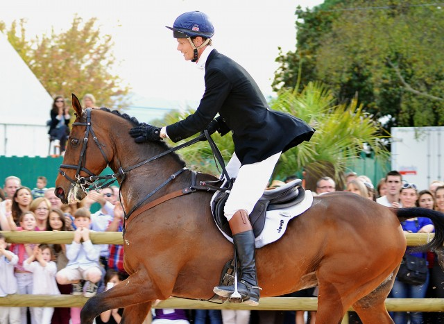 William Fox-Pitt and Seacookie TSF at Pau. Photo by Jenni Autry.