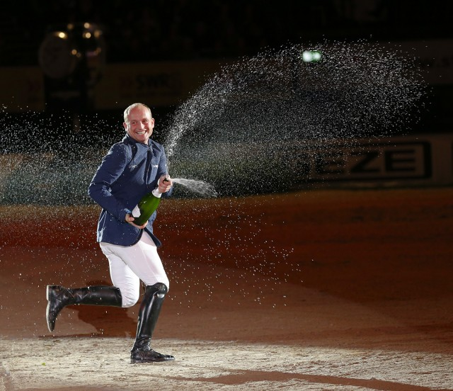 Laughing all the way to the WEG podium. Photo by Julia Rau.