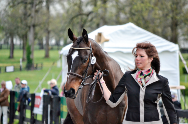Meghan O'Donoghue and Pirate made their Rolex debut last year. Photo by Jenni Autry.