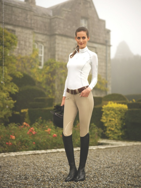 Azzura breeches from the Tredstep Ireland Symphony Collection