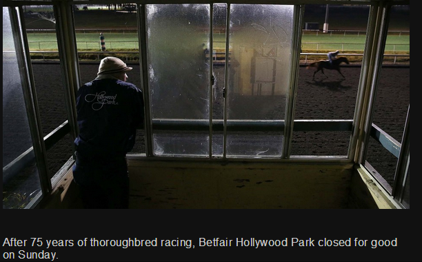 The Palm Beach Post published a photo piece on the final days of the storied racetrack.