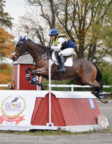 Jan Byyny and Inmidair at Fair Hill. Photo by Jenni Autry.