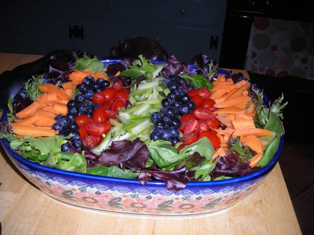 My mom's salad extraordinaire!