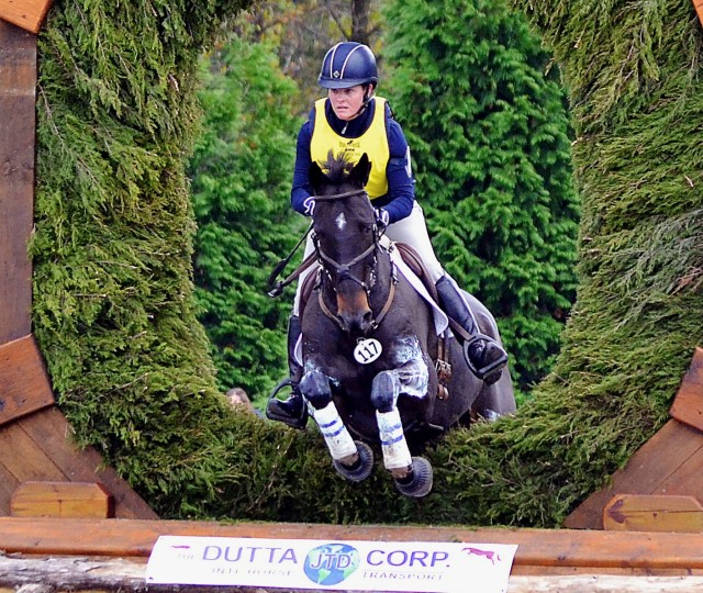 Kim Severson and Fernhill Fearless at Fair Hill CCI3*. Photo by Jenni Autry.