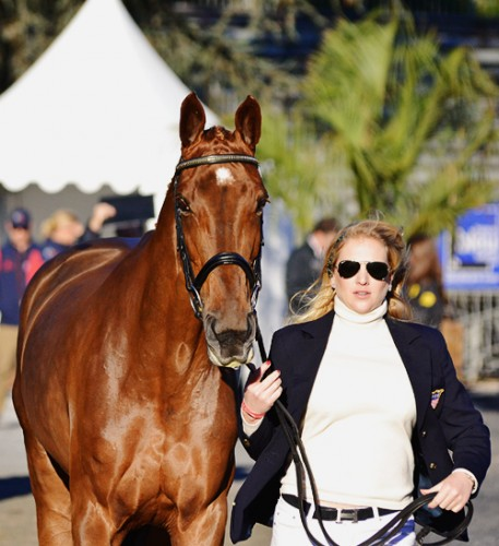 RF Demeter and Marilyn Little at Pau. Photo by Jenni Autry.
