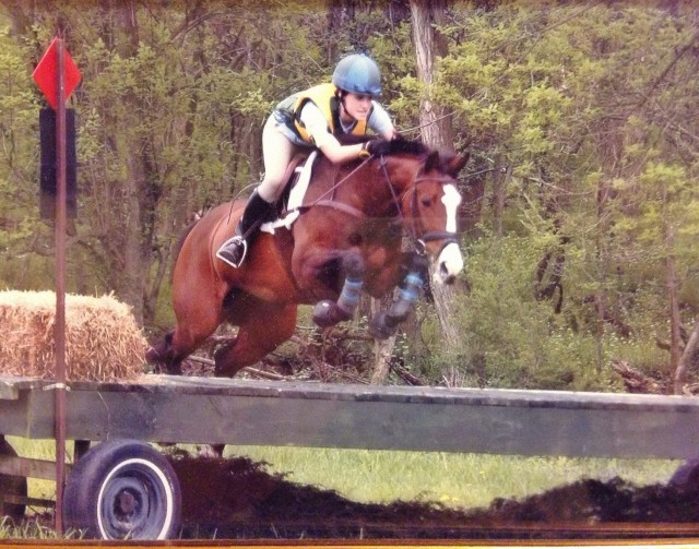 Petal in the Training at Morven Park in 2004. Photo by Joe Samuels.