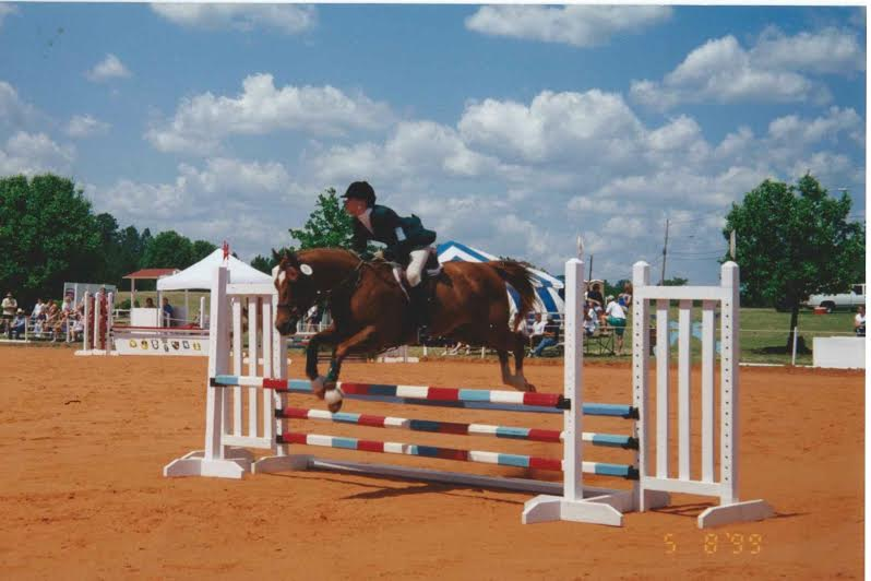 Matty and Erin in their last season of Eventing together. Photo by Miriam Skinner.