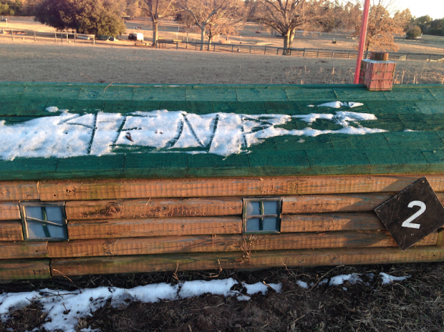 We are feeling the EN love! Found by Kate Samuels on the Sporting Days cross country course.