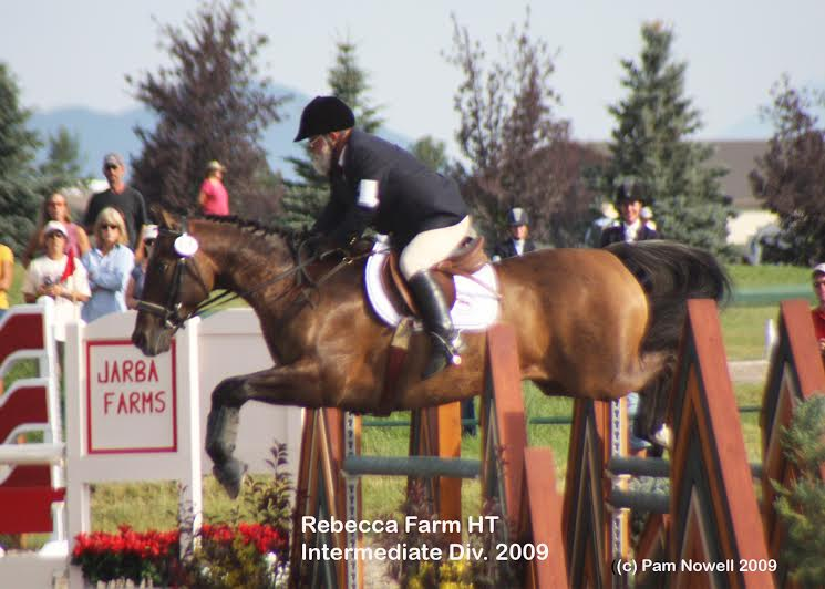 Don competing at Rebecca Farms. Photo courtesy of  Pam Nowell.