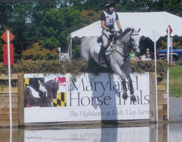 Zane running the Intermediate at Maryland HT. Photo by Jean Louis Martin.