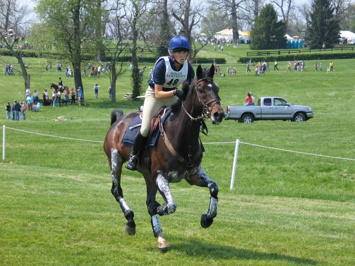 Tara and Buck galloping at Rolex 2007. Photo by Drew Bishop.