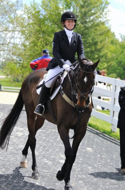 Kelly and Reggie entering the Rolex stadium. Photo by Lisa Tossey.