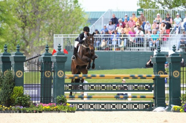 Kelly & Reggie at Rolex. Photo by Lisa Tossey.